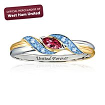 West Ham United FC 'United Forever' Ladies' Ring