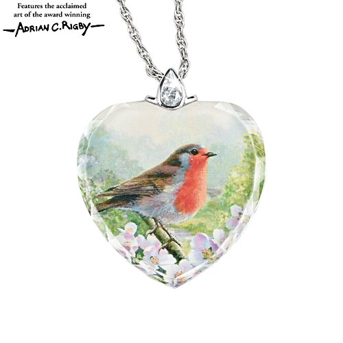 'Messenger From Heaven' Robin Pendant