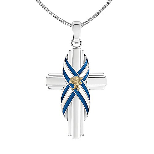 'Forever Scotland' Silver-Plated Pendant