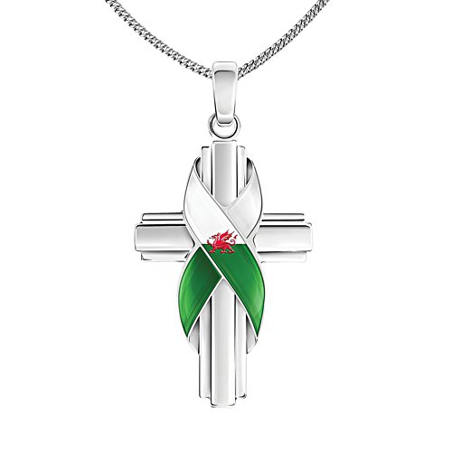 'Forever Wales' Silver-Plated Pendant