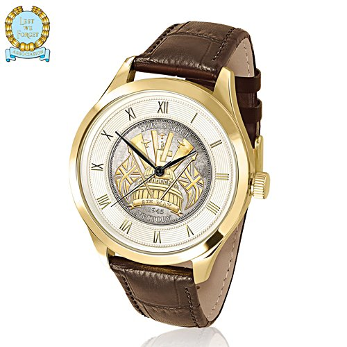 'Victory In Europe' 75th Anniversary Men's Commemorative Watch