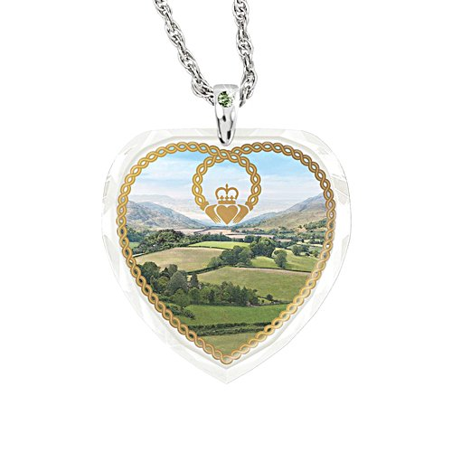 'Irish Blessings' Swarovski® Crystal Ladies' Pendant