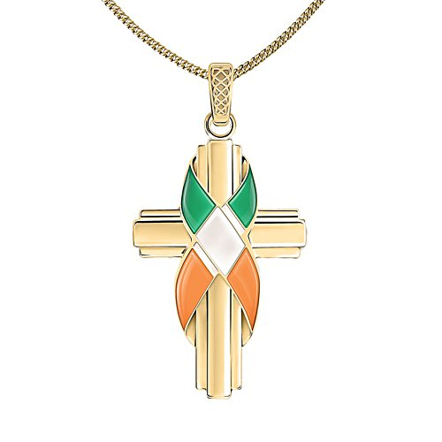 'Forever Ireland' Gold-Plated Pendant