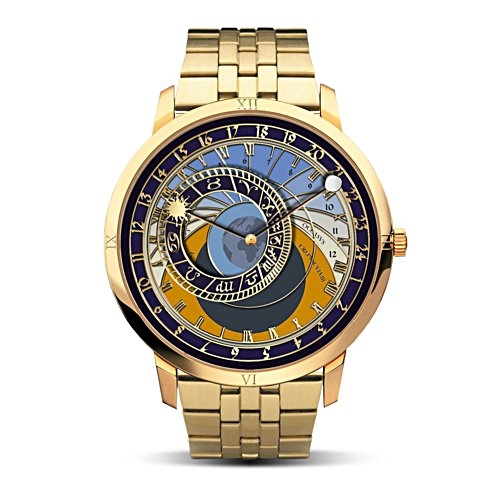 'The Course Of Life' Astronomy-Inspired Men's Watch
