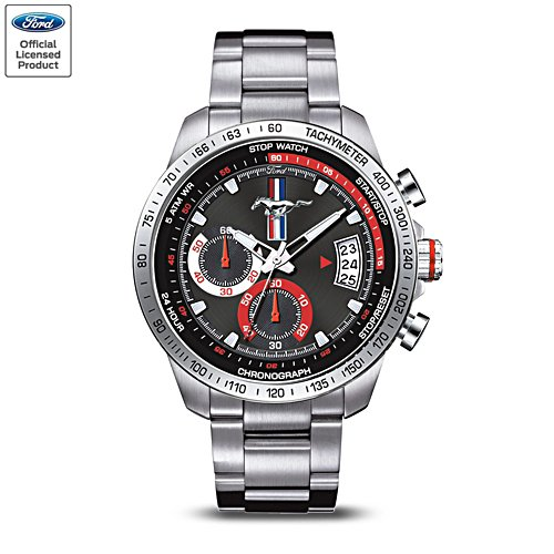 Ford Mustang 'The Legend' Men's Chronograph Watch