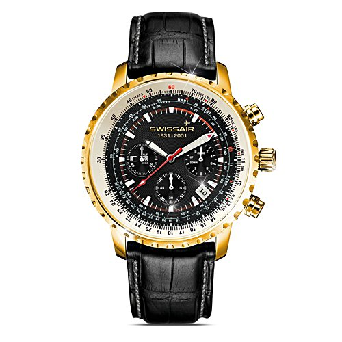 'Swissair Spirit' Men's Chronograph Watch