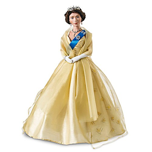 'Our Queen' Wattle Dress Diamond Anniversary Doll