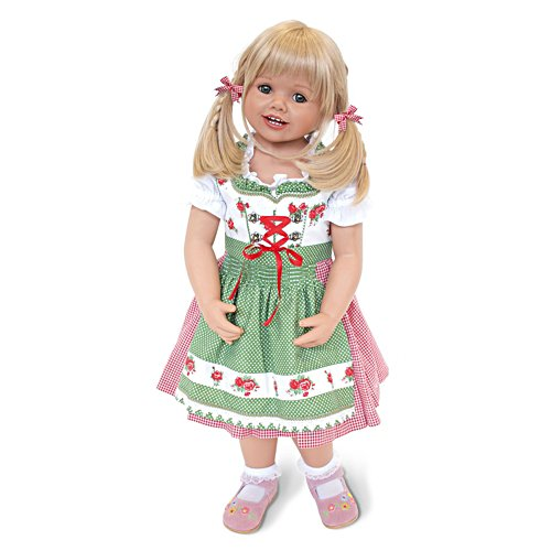 'Louisa' Dirndl Girl Doll