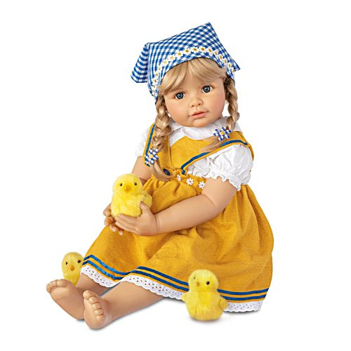 'Emma, The Fledgling Mum' Baby Girl Doll