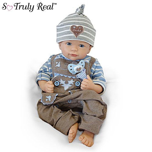 'Anton' So Truly Real® Poseable Baby Boy Doll
