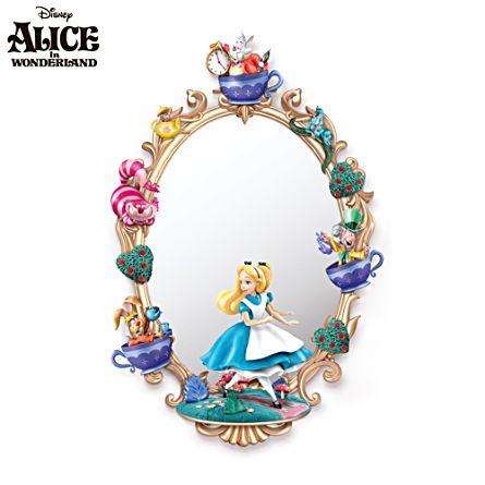 Alice In Wonderland Sculptural Wall Mirror