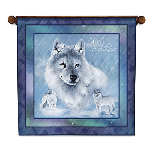 'Spirit Of The Wilderness' Quilted Wall Hanging