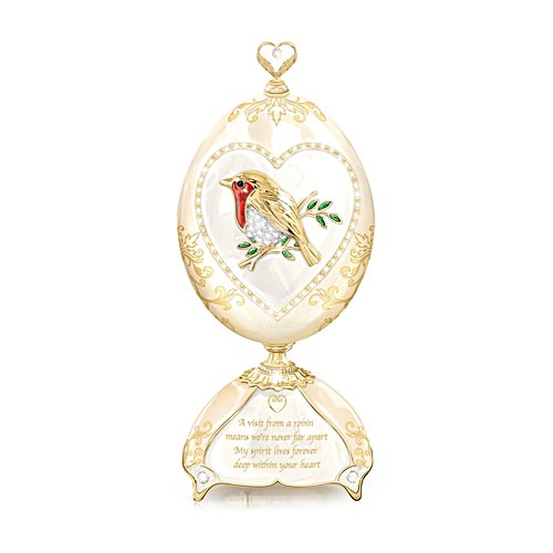 'Messenger Of Love' Musical Heirloom Porcelain® Egg