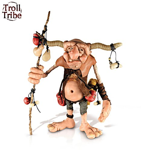 'Bildred Of The Troll Tribe' Figurine