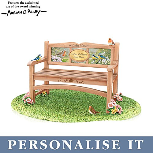 'Until We Meet Again' Personalised Remembrance Bench Ornament
