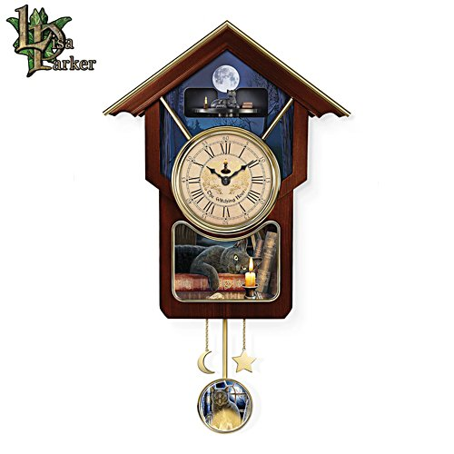 'The Witching Hour' Art Wall Clock
