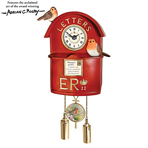 'Messenger Of Love' Post Box Wall Clock