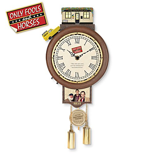 Only Fools and Horses Rotating Wall Clock
