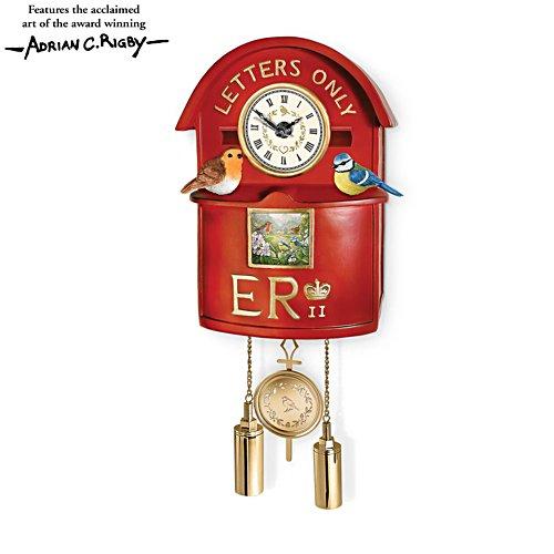 'Jewels Of Nature' Post Box Wall Clock