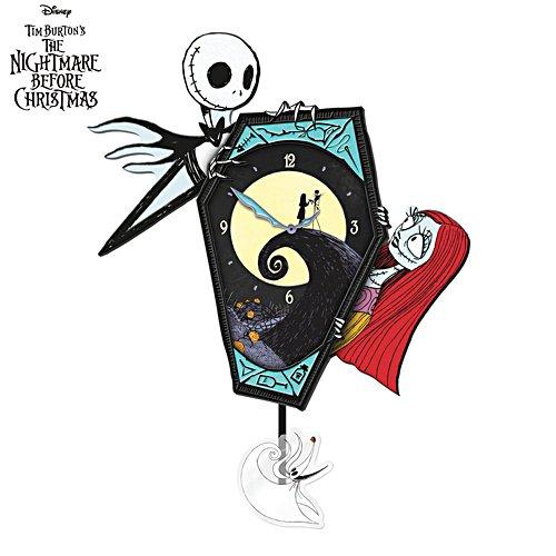 Disney Tim Burton's The Nightmare Before Christmas Wall Clock