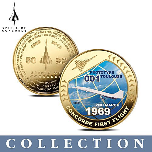 'Spirit Of Concorde' 50th Anniversary Commemorative Collection