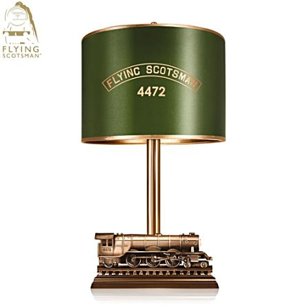Flying Scotsman Non-Stop Run Sculpted Table Lamp
