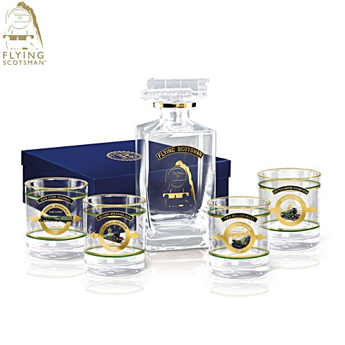 Flying Scotsman 'Legend Of Steam' Decanter Set