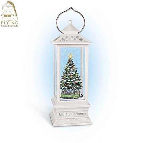 Flying Scotsman 'Heart Of Christmas' Illuminated & Musical Tree Lantern