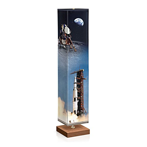Apollo 11 Fabric Floor Lamp