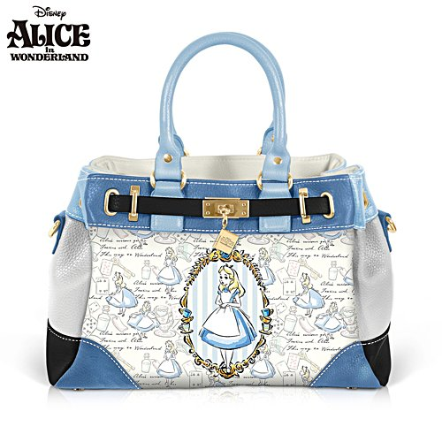 Disney Alice In Wonderland 'Through The Looking Glass' Handbag