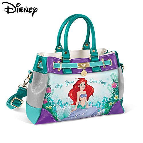 Disney 'Sing Your Own Song' The Little Mermaid Art Handbag