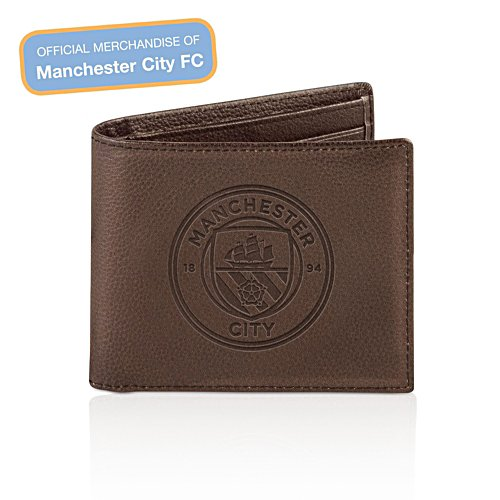 Manchester City FC Men's Leather Wallet