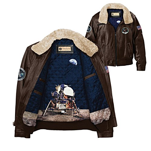 Apollo 11 Moon Landing Leather Jacket
