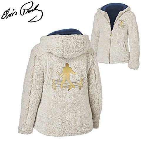 Elvis™ 'King of Rock 'n' Roll™' Ladies' Sherpa Fleece