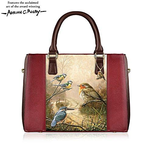 'Jewels Of Nature' Robin Tote Handbag