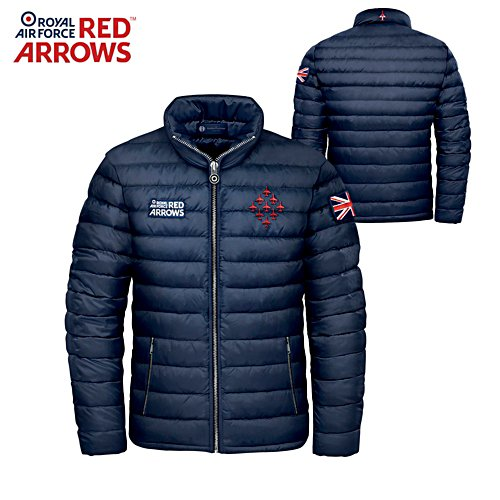 'Red Arrows' Quilted Men's Jacket