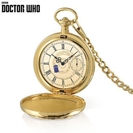 Doctor Who TARDIS Pocket Watch