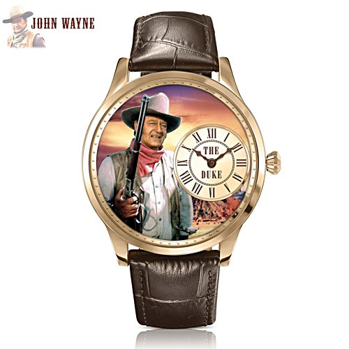 John Wayne 'Timeless Legend' Men's Watch