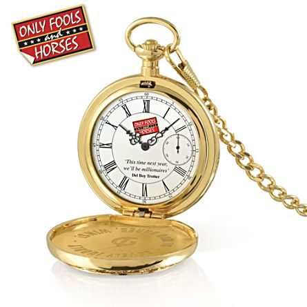 Only Fools And Horses Gold-Plated Pocket Watch