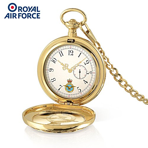 Royal Air Force Gold-Plated Pocket Watch