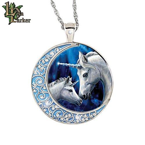 Lisa Parker 'Sacred Love' Unicorn Diamond Pendant