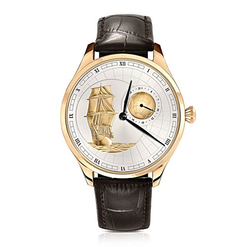 Shackleton 'Endurance' Gold-Plated Men's Watch