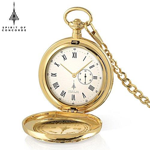 'Spirit Of Concorde' MACH 2 50th Anniversary Men's Pocket Watch