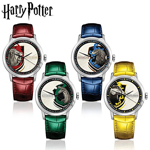 'Hogwarts™ House Pride' Leather Strap Watches