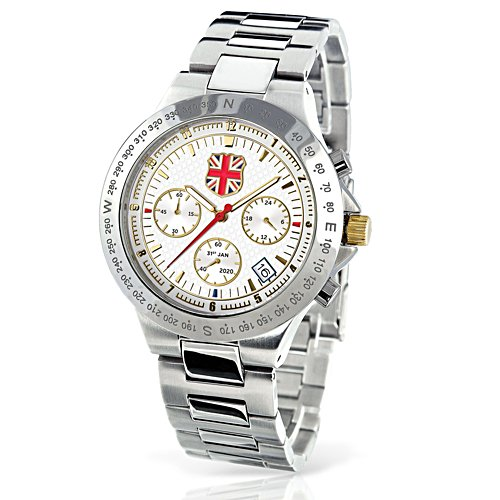 'UK Freedom And Independence 2020' Chronograph Watch