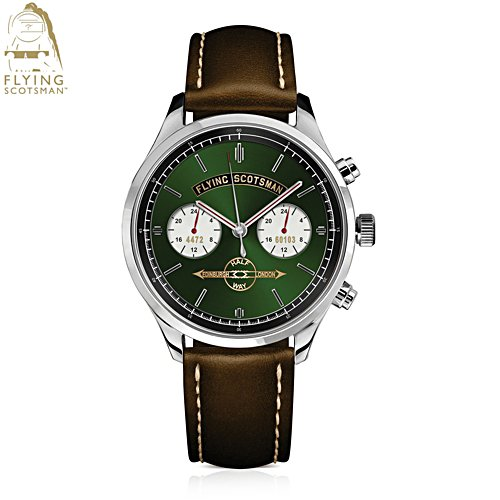 Flying Scotsman 'Legend Of Steam' Stainless Steel Watch