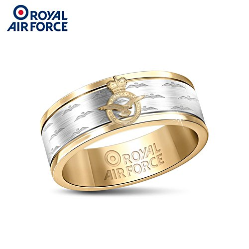 Royal Air Force Stainless Steel Men's Ring