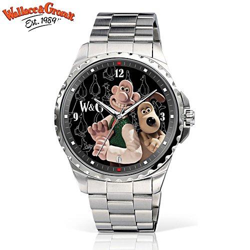 Wallace & Gromit Stainless Steel Men's Watch