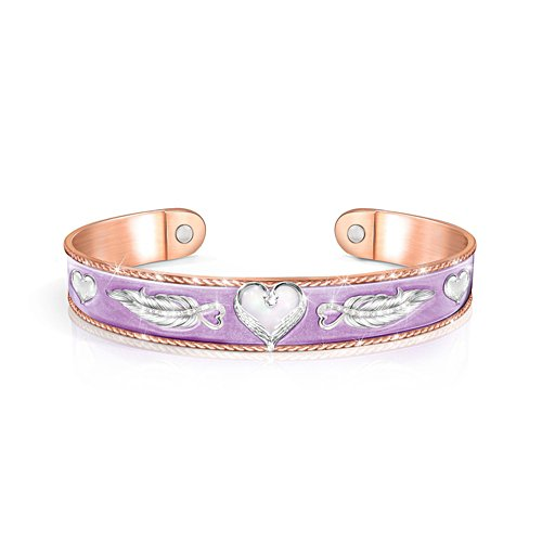 'Forever In My Heart' Copper Touch Bracelet
