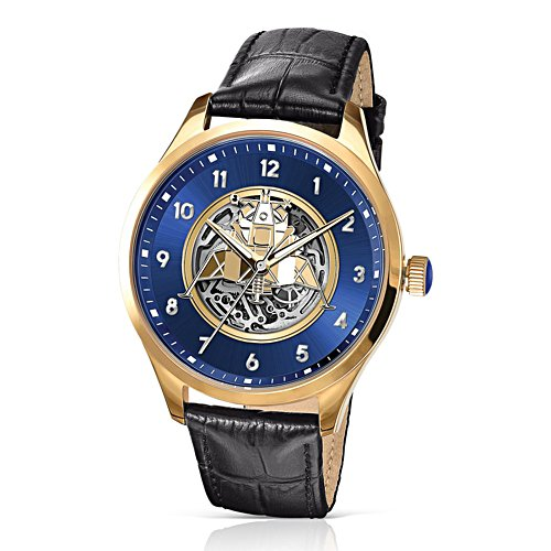 Apollo 11 Moon Landing Gold-Plated Mechanical Watch